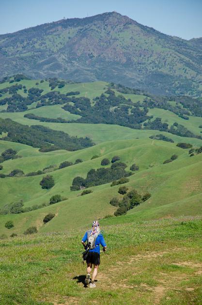 Running Brazen Racing Mt Diablo Trails Challenge 50k