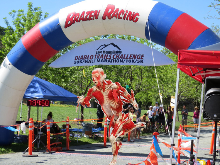 Brazen Racing Mt Diablo Trails Challenge 50k finish