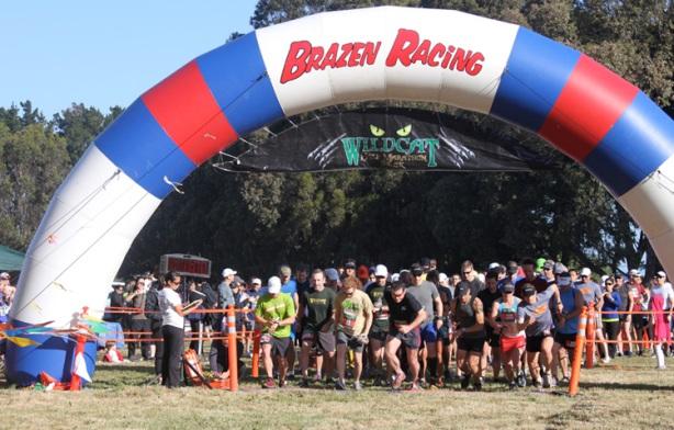 Brazen Racing Wildcat Half Marathon start