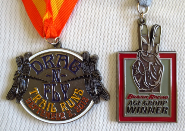 Brazen Racing Drag-N-Fly medals