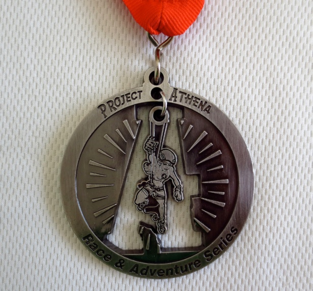 Moab/Project Athena Race and Adventure Series medal