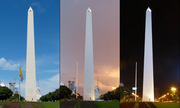 El Obelisco in Plaza de la República, Buenos Aires (photo credit: Mike Sohaskey)