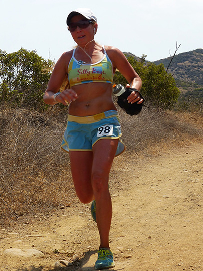 Michelle Barton at Harding Hustle 50k 2013