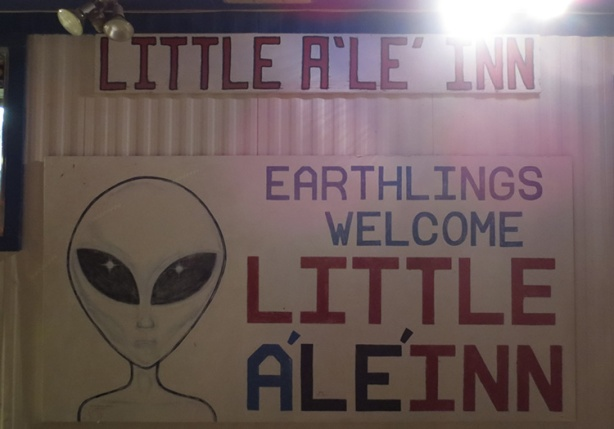 The Little A'Le'Inn, a Rachel NV landmark, served as finish line for E.T. Full Moon Midnight Marathon