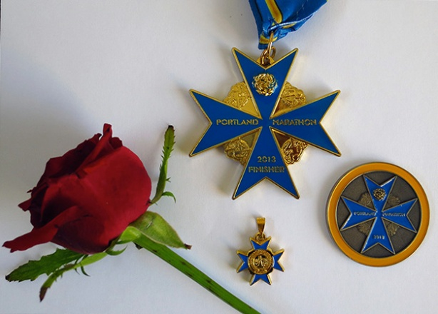 2013 Portland Marathon Medal
