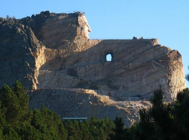 Crazy Horse Monument Oct 2011