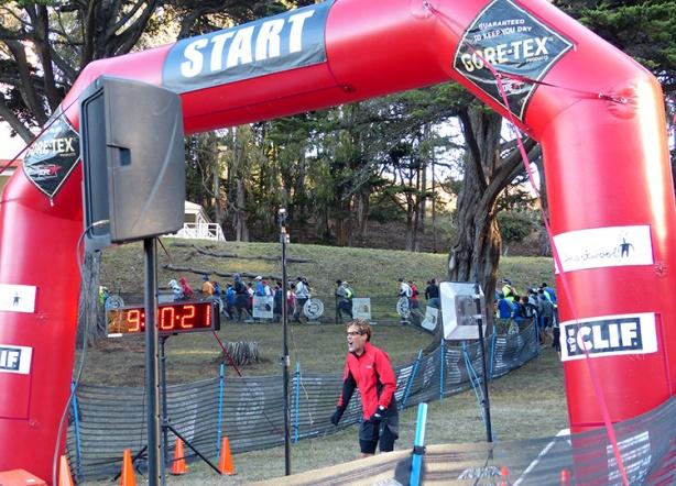 Dean Karnazes at start of the North Face Endurance Challenge Championship Marathon