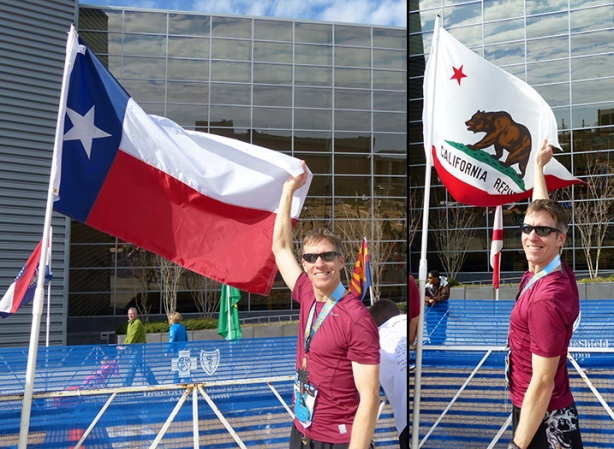 CA/TX flags