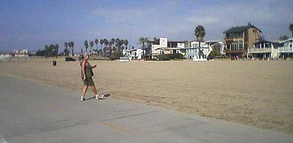 Dancing in Playa del Rey