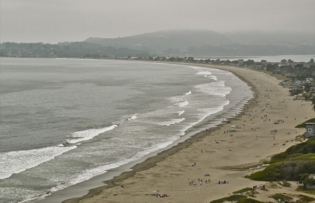 Gloomy Stinson Beach