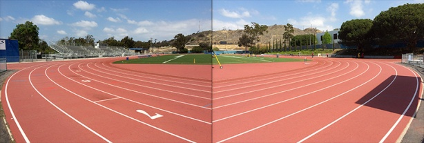 Welcome to the West L.A. College track