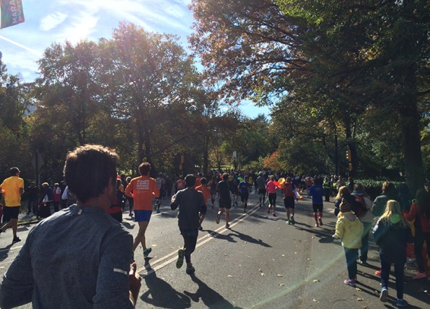 New York Marathon - Central Park home stretch