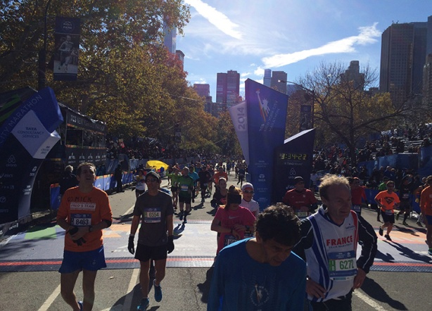 New York City Marathon - Finish line