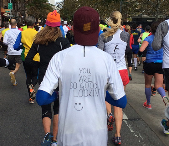 New York City Marathon - fun t-shirt