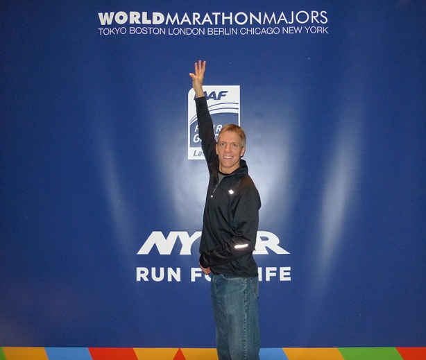 Mike Sohaskey - World Marathon Major #3!