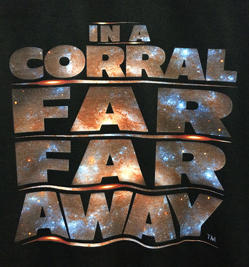 """In a Corral Far Far Away"" Disney t-shirt"