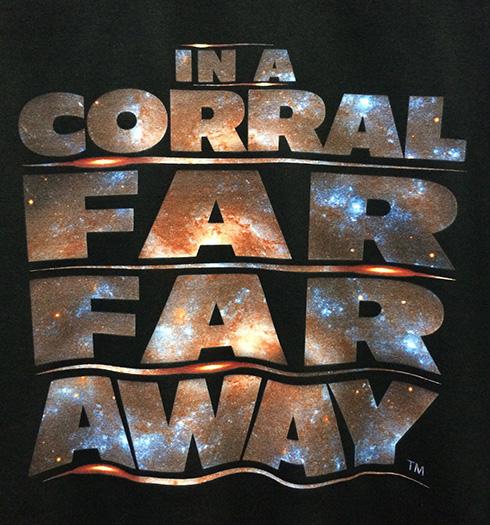 """In a Corral Far Far Away"" Disney t-shirt"