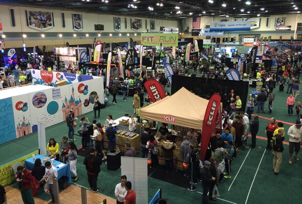 WDW Marathon Weekend Expo floor 2015