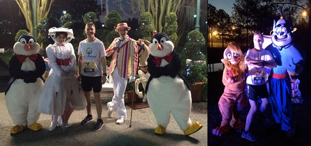 Mike Sohaskey with Mary Poppins & Aladdin