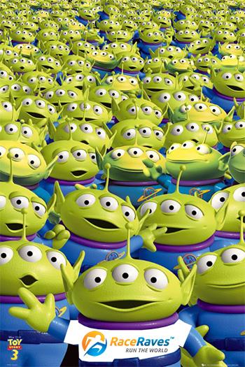 Toy Story three-eyed aliens