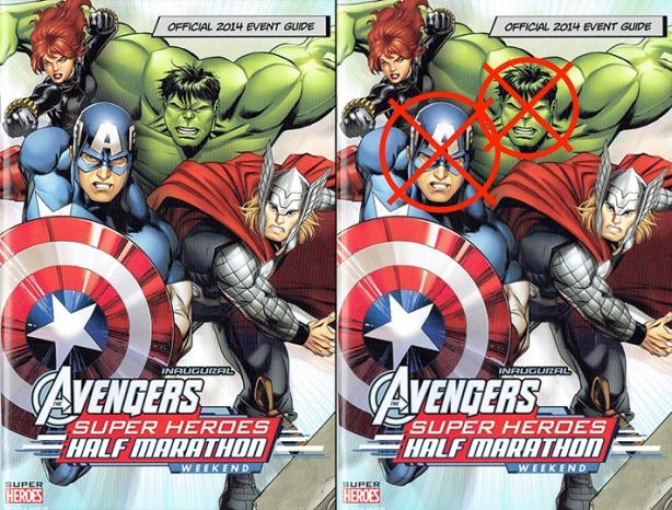 Avengers Super Heroes Half Marathon Event Guide