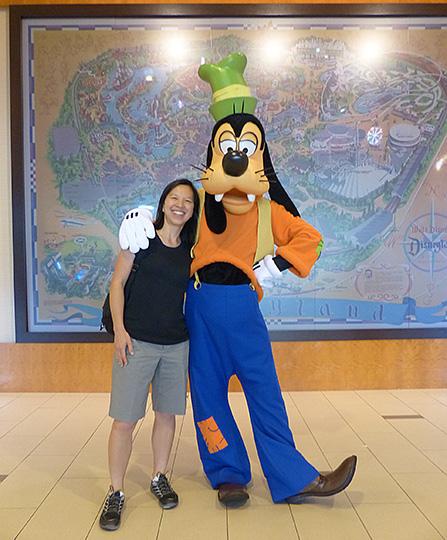Katie & Goofy