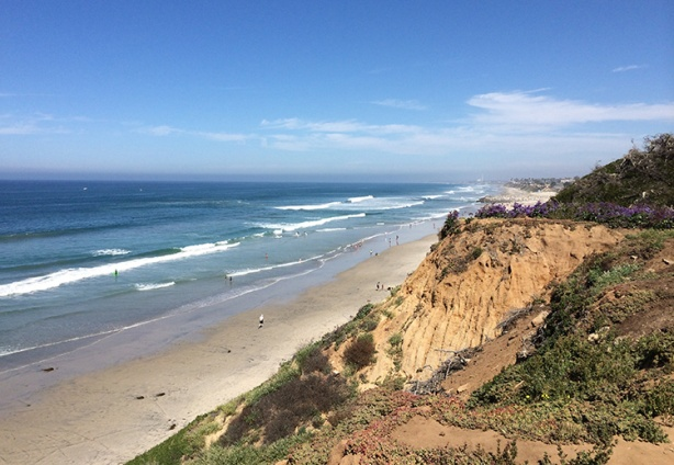 Carlsbad coastline - photo credit: Mike Sohaskey
