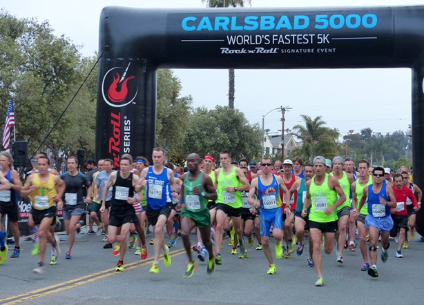 2015 Carlsbad 5000 Men's Master start