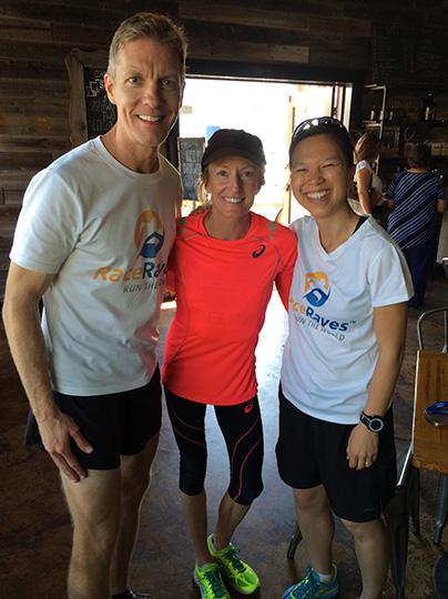 Mike Sohaskey, Deena Kastor & Katie Ho - 2015 Carlsbad 5000