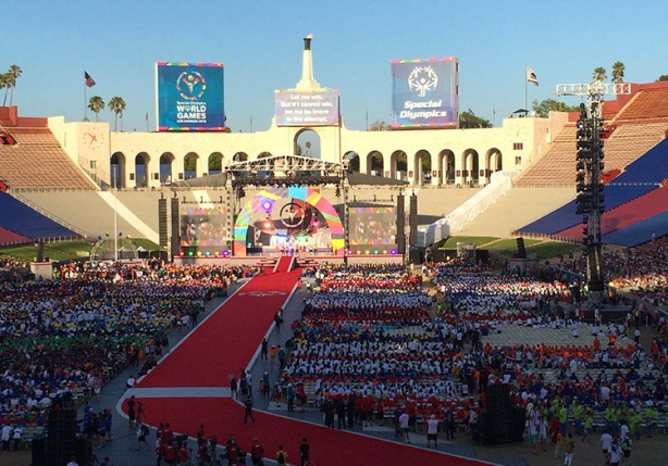 Special Olympics World Games Closing Ceremony stage