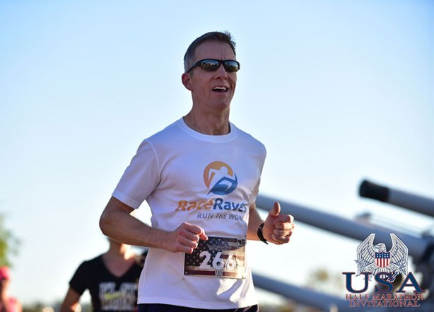 Mike Sohaskey racing in Inaugural USA Half Marathon Invitational