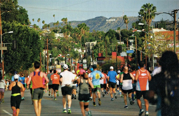 Los Angeles Marathon official program – Sunset & Benton