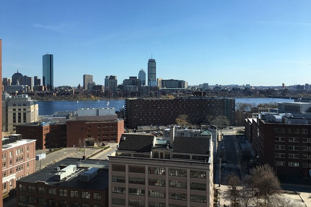 View from Boston Marriott Cambridge
