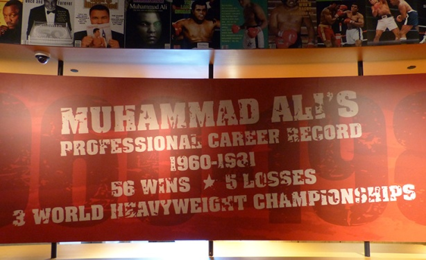 Muhammad Ali career record sign