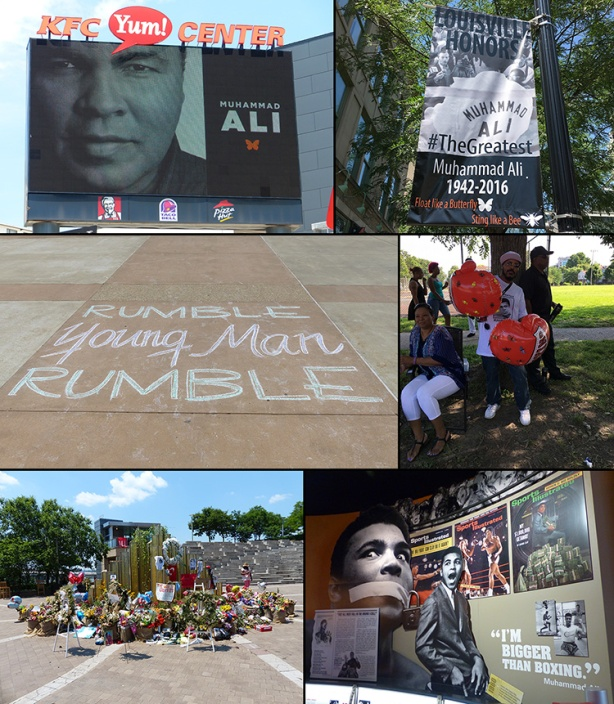 Muhammad Ali tribute collage