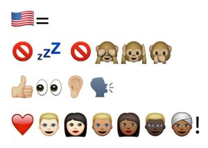 TL;DR emojis for post-election recap