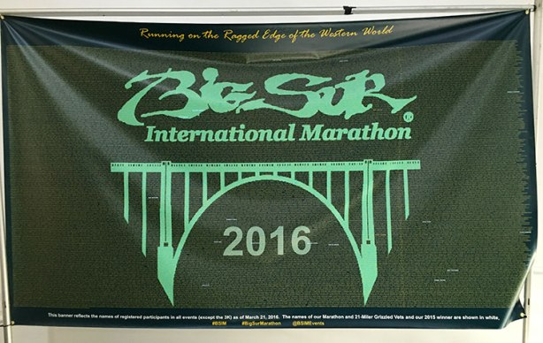 Big Sur poster with runners names-bch