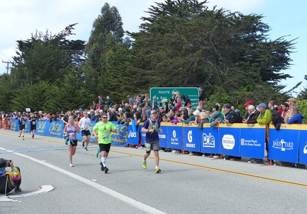 Big Sur International Marathon finish