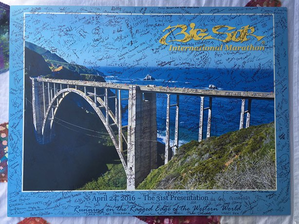 Signed Boston to Big Sur poster_bch