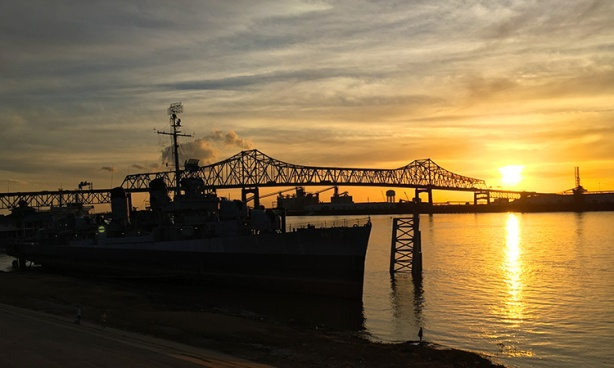 Baton Rouge sunset