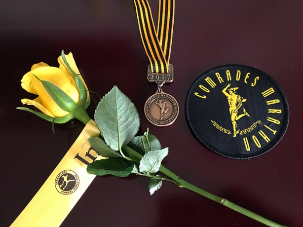 Comrades bronze medal