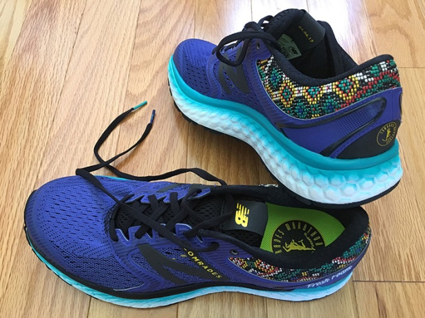 2017 Comrades Marathon New Balance shoes