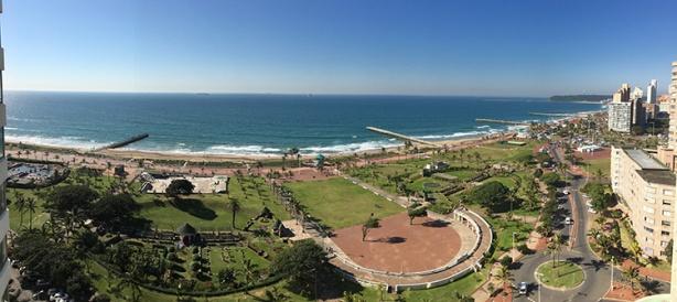 Durban view from Southern Sun Elangeni (for Comrades Marathon)