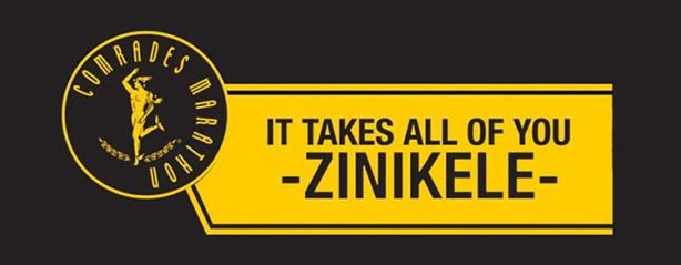 2017 Comrades Marathon motto –Zinikele