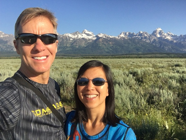 Mike Sohaskey & Katie Ho at Grand Teton
