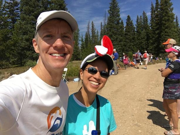 Mike Sohaskey & Katie at Dumont Lake Station (Run Rabbit Run)