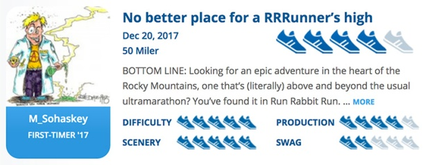 Run Rabbit Run review summary for RaceRaves