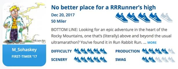 Run Rabbit Run review summary for RaceRaves