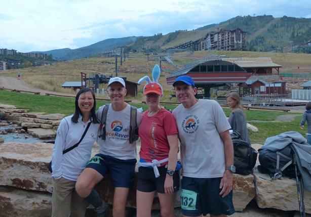 Run Rabbit Run finish line shot