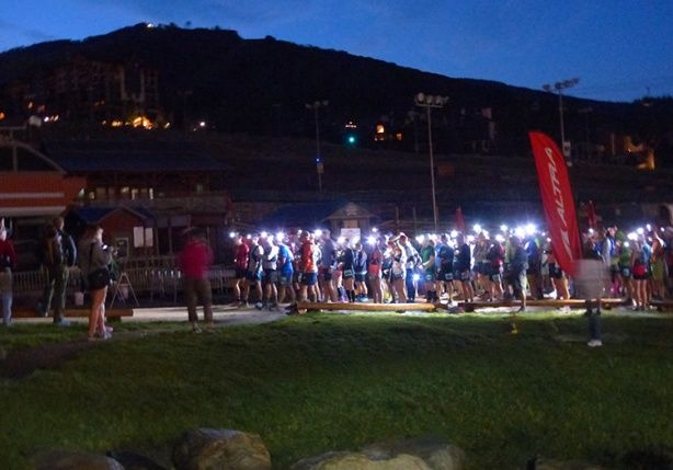 Run Rabbit Run 50-miler start line
